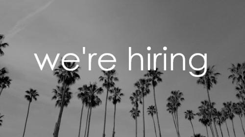 we're hiring palm